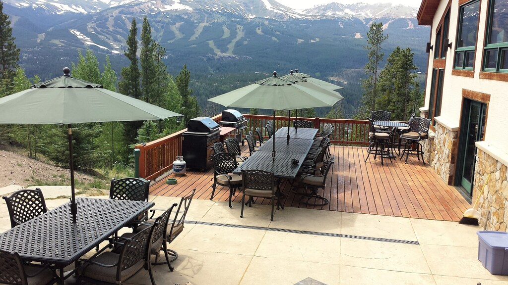 Private  Deck and Patio - 2,000 square foot private deck and patio with exterior seating for 24