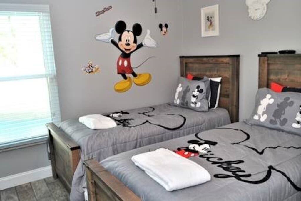 Disney Mickey Mouse Themed Bedroom Rooms