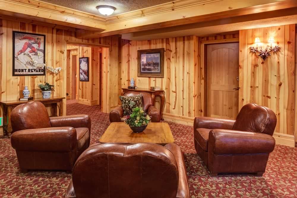 Building Lounge Area