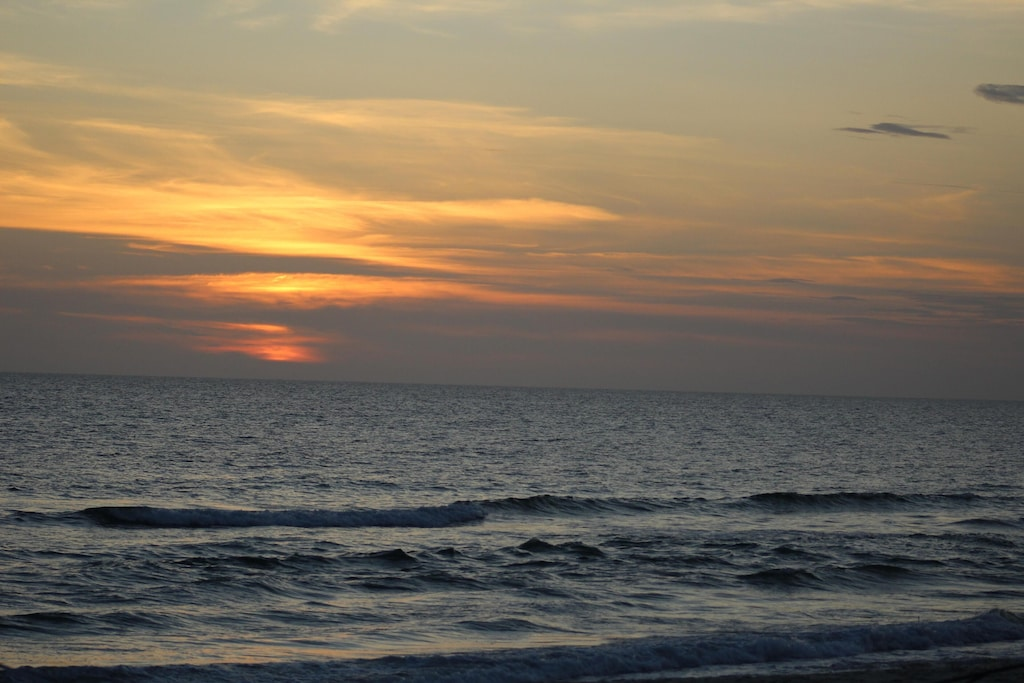 Sunset at Barrier Dunes!!
