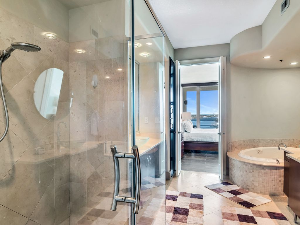 Master Bath with Jetted Tub & Walk-in Shower