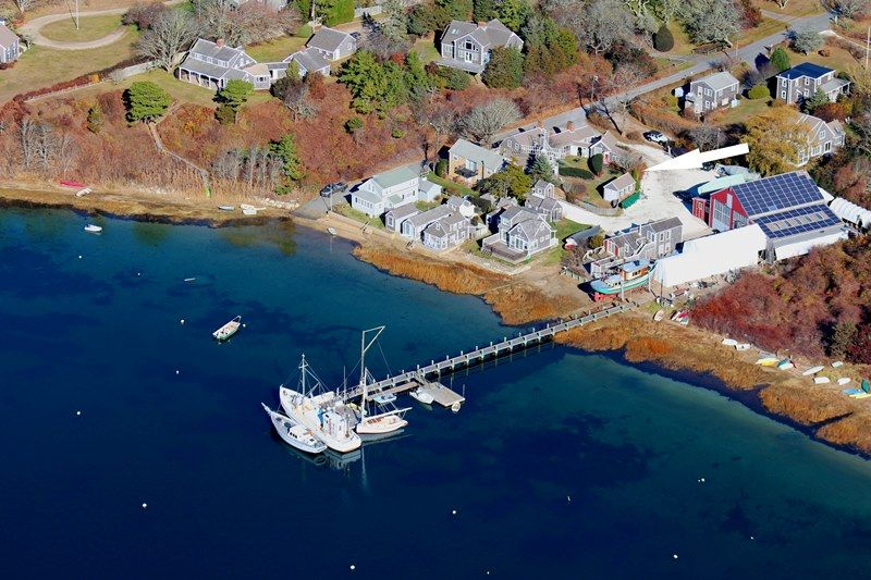 MILL POND COTTAGE COMPOUND Aerial View