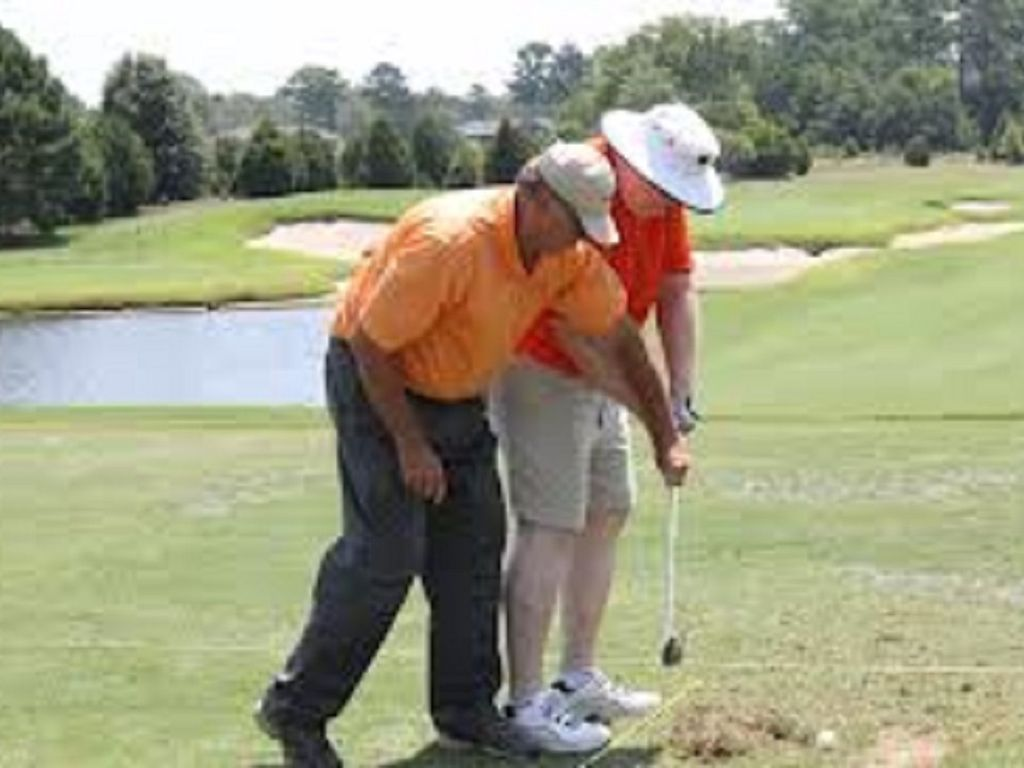 Take a lesson from the pros at the onsite golf school