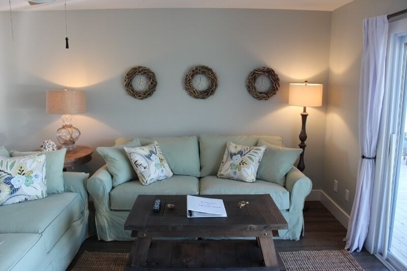 Living Room - 2 full sofas - just sit and enjoy the gorgeous views!!!