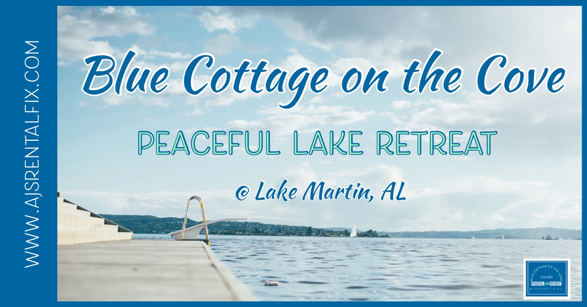 Your Peaceful Escape to Lake Martin!