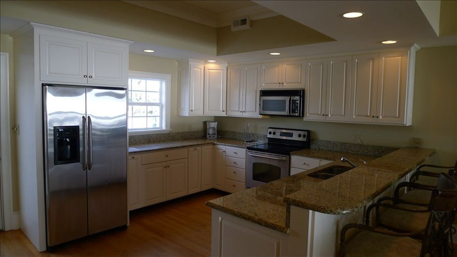 Updated kitchen with granite coounters