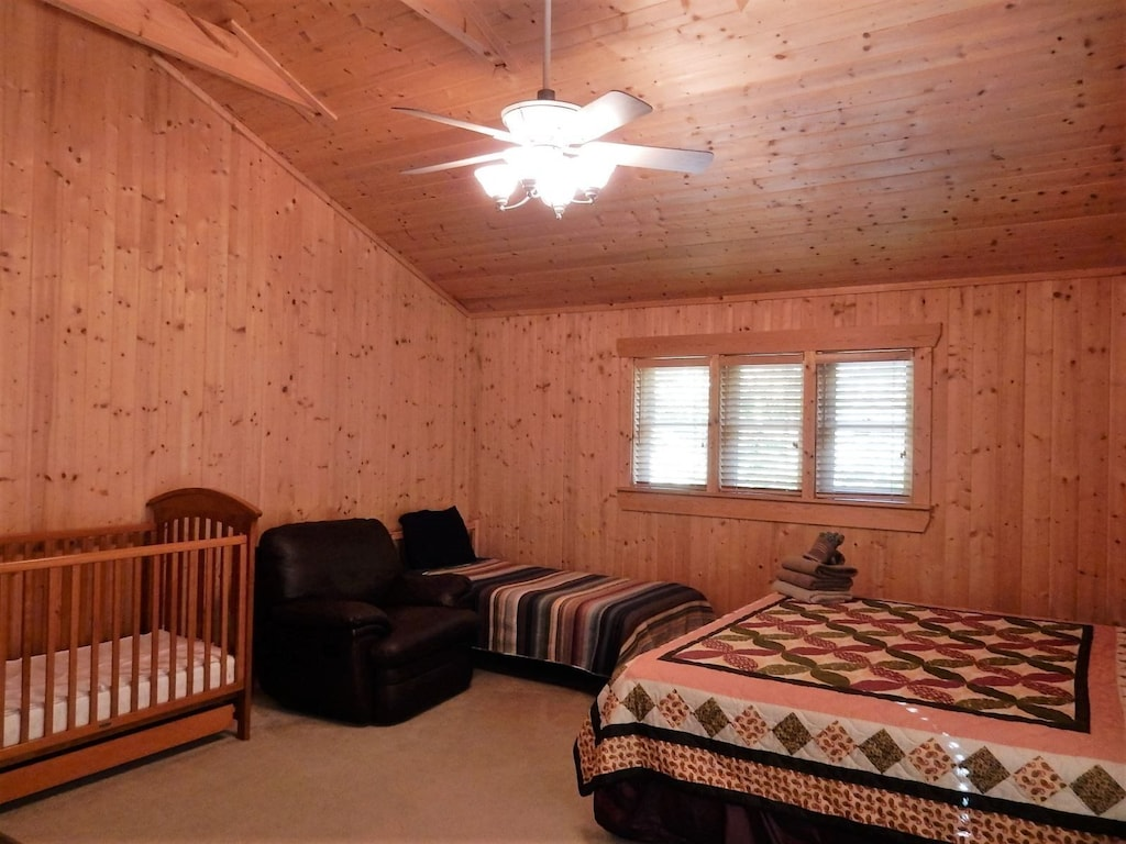This room is perfect for those with young children. There is also a high chair and baby gate at the home.