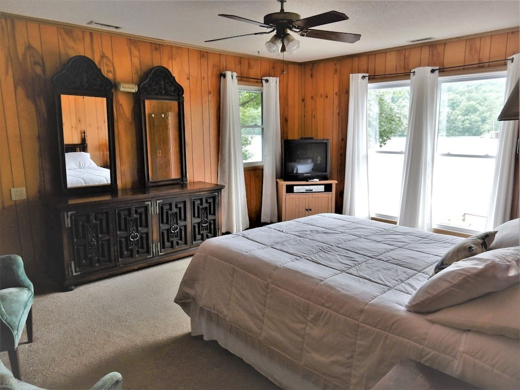 Bedroom four with queen size bed