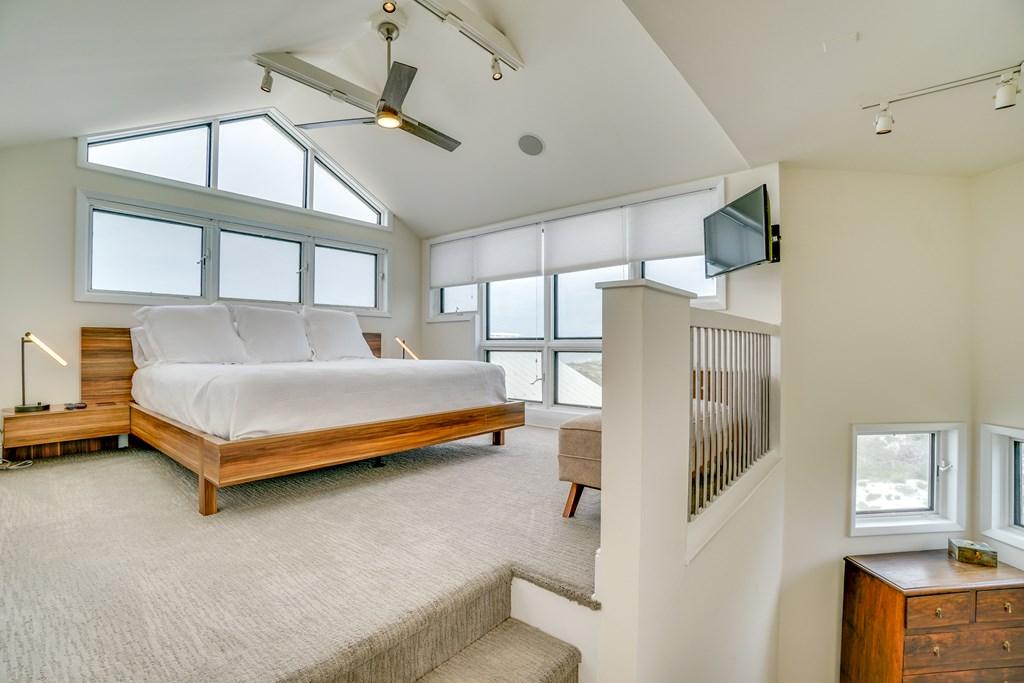 Loft bedroom on 4th floor