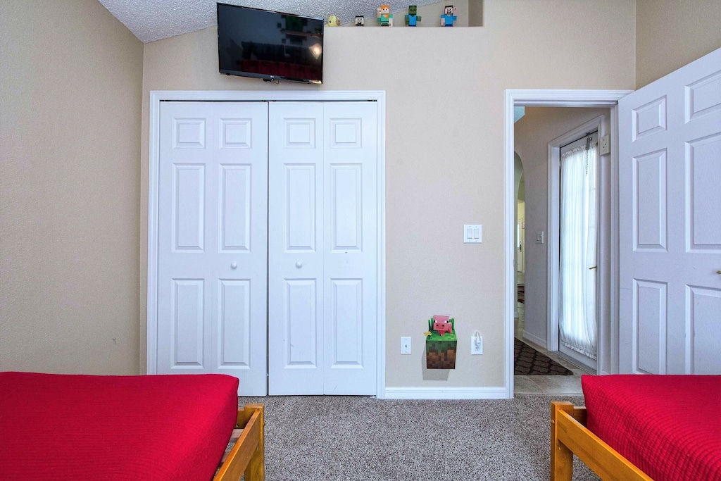 Every bedroom has it's own TV!
