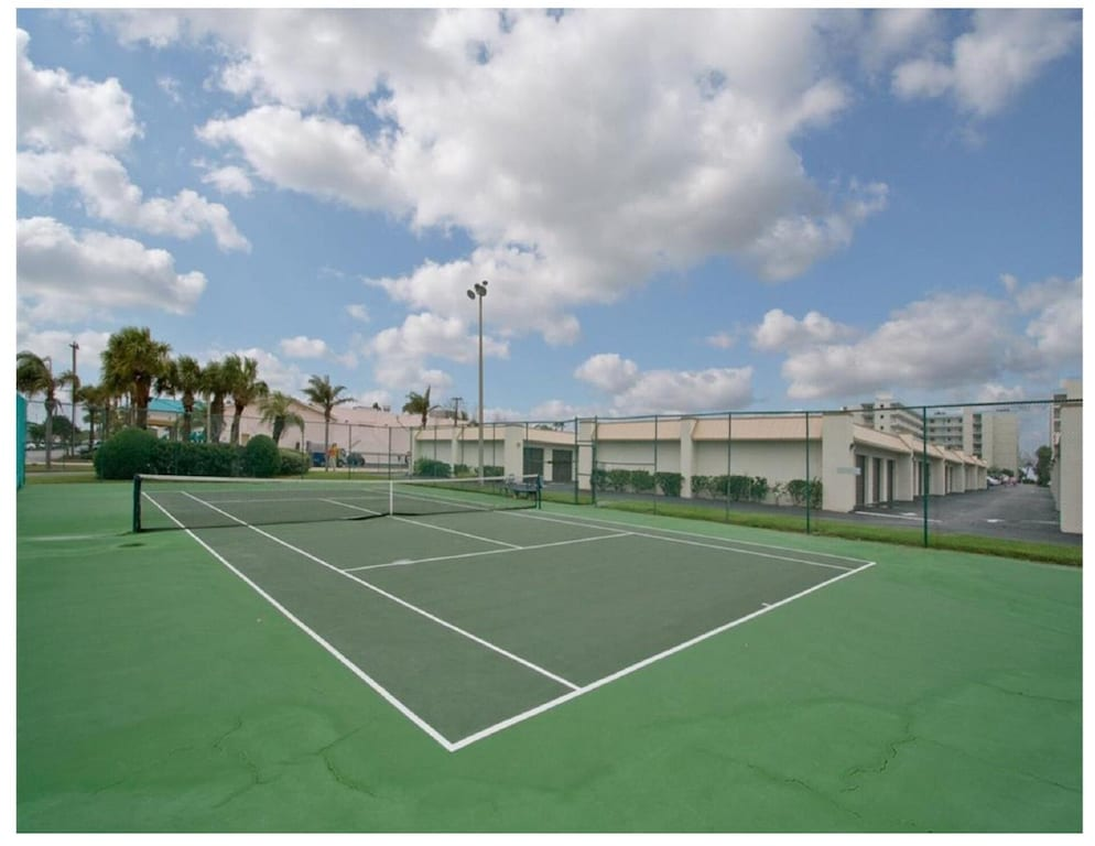 Private Lighted Tennis Courts, for Night Play Too!