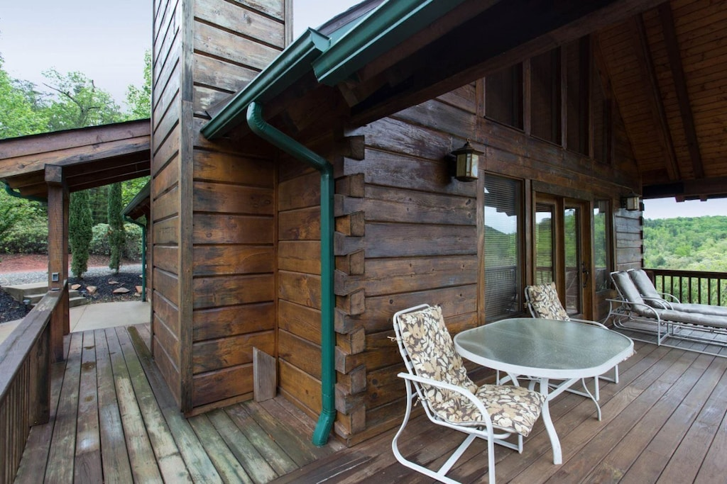 Imagine having your morning coffee or tea on the deck.