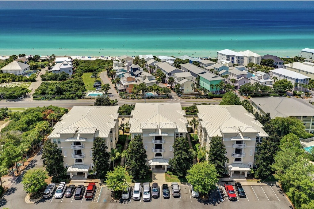 Overview of our complex.  24 total units, 8 per building.  Gated, secure parking