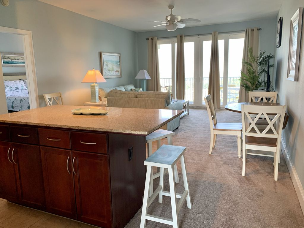 You will love this spacious family room and kitchen.