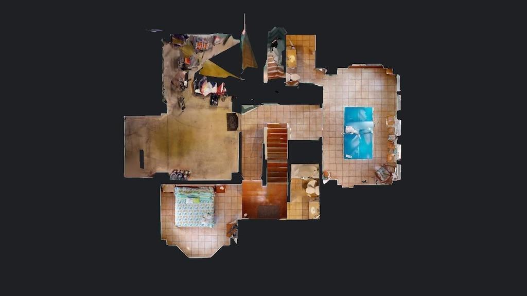 Overview of ground floor