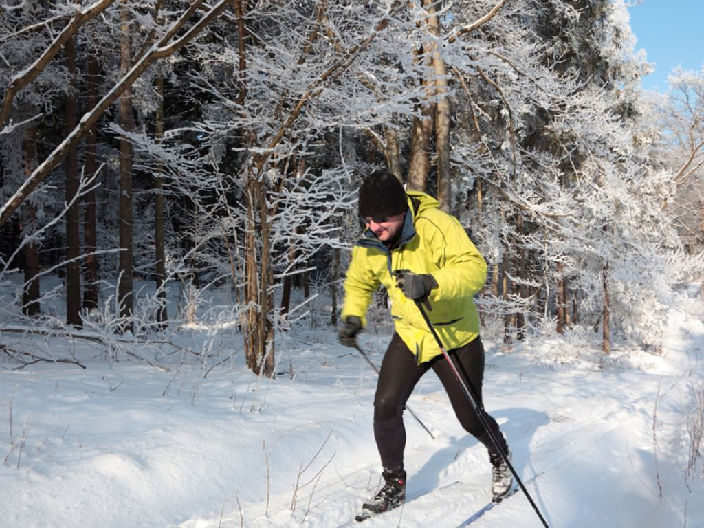 We have cross country skiing nearby