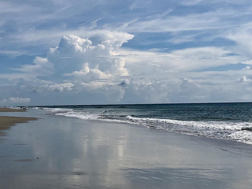 Beautiful wide open beaches!