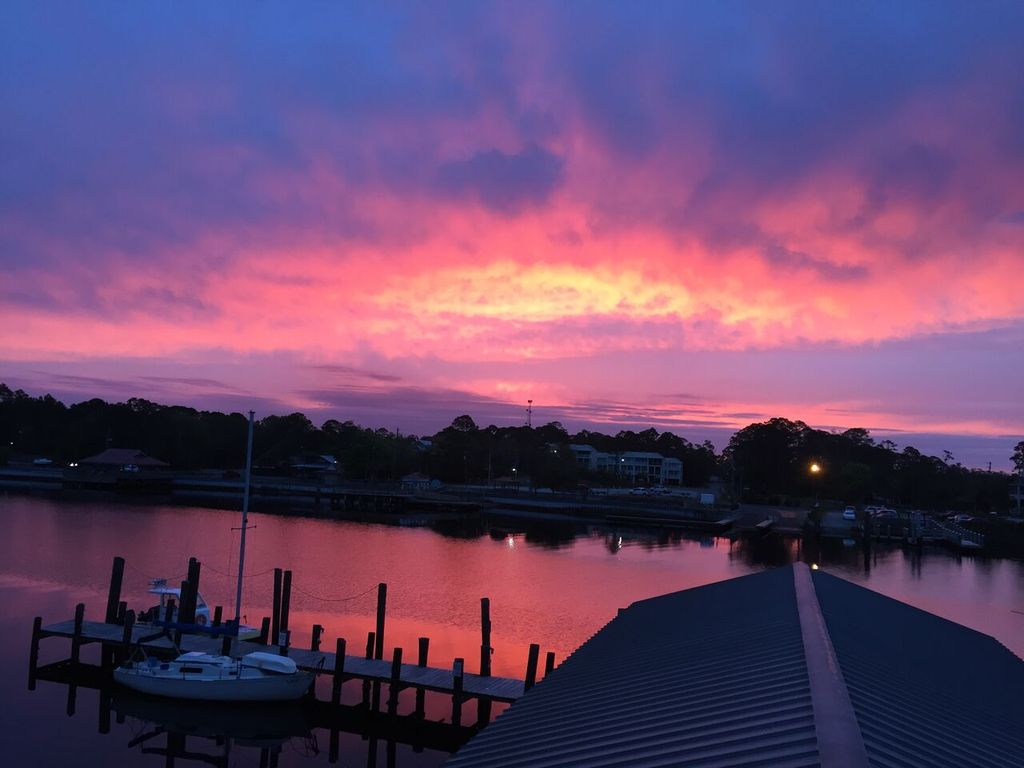 Sunrise on the Carrabelle River