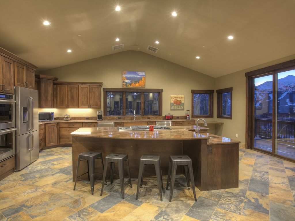 Kitchen. - Kitchen features: 2 ovens, 2 refrigerators, 2 dishwashers, 2 std. coffee makers, commercial ice maker, Keurig