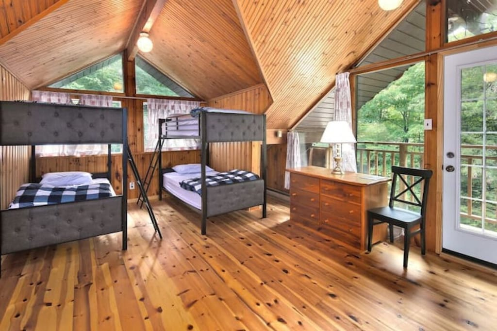 Lots of beds in this home