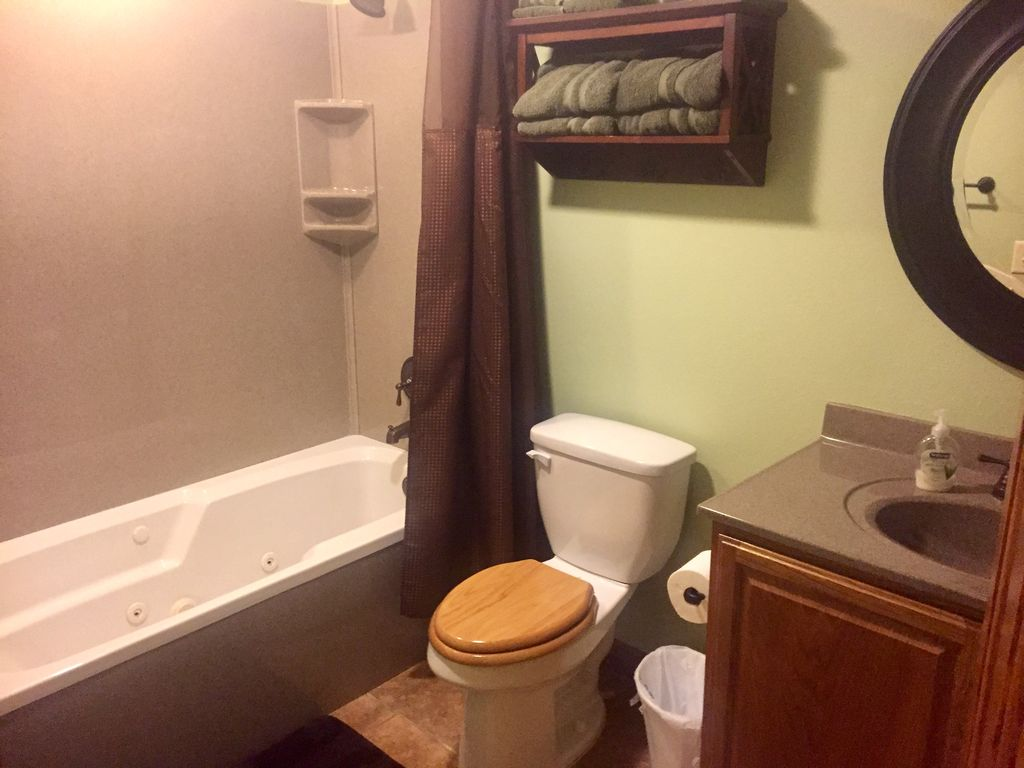 Bathroom #3 with jetted tub.