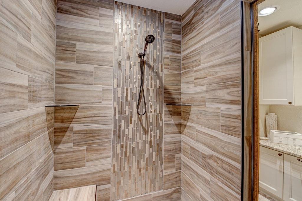 Luxury walk-in shower