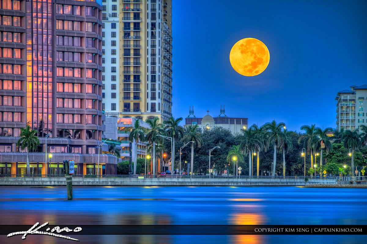 West Palm Beach Downtown Skyline
