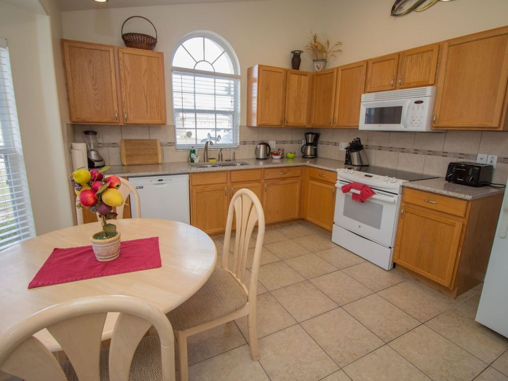 Fully Equipped Kitchen and Breakfast Table