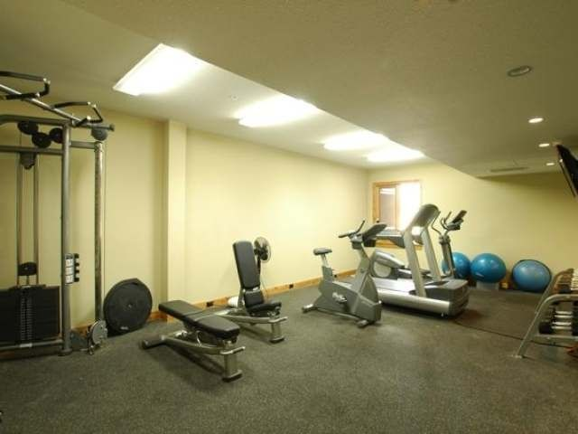 Fully loaded fitness gym if you want to have a quick workout.