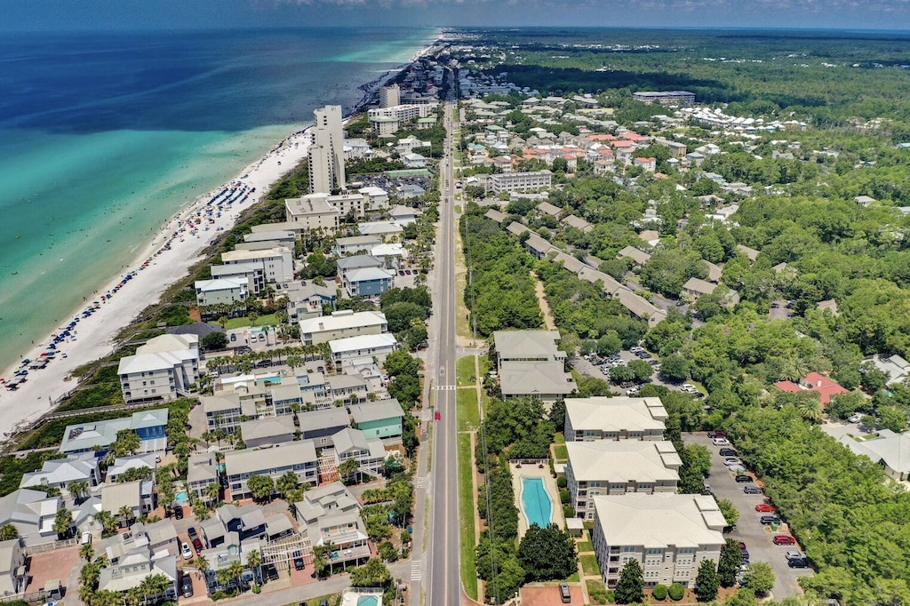 Villas at Seagrove Beach is 2 miles from Seaside without all of the crowds!