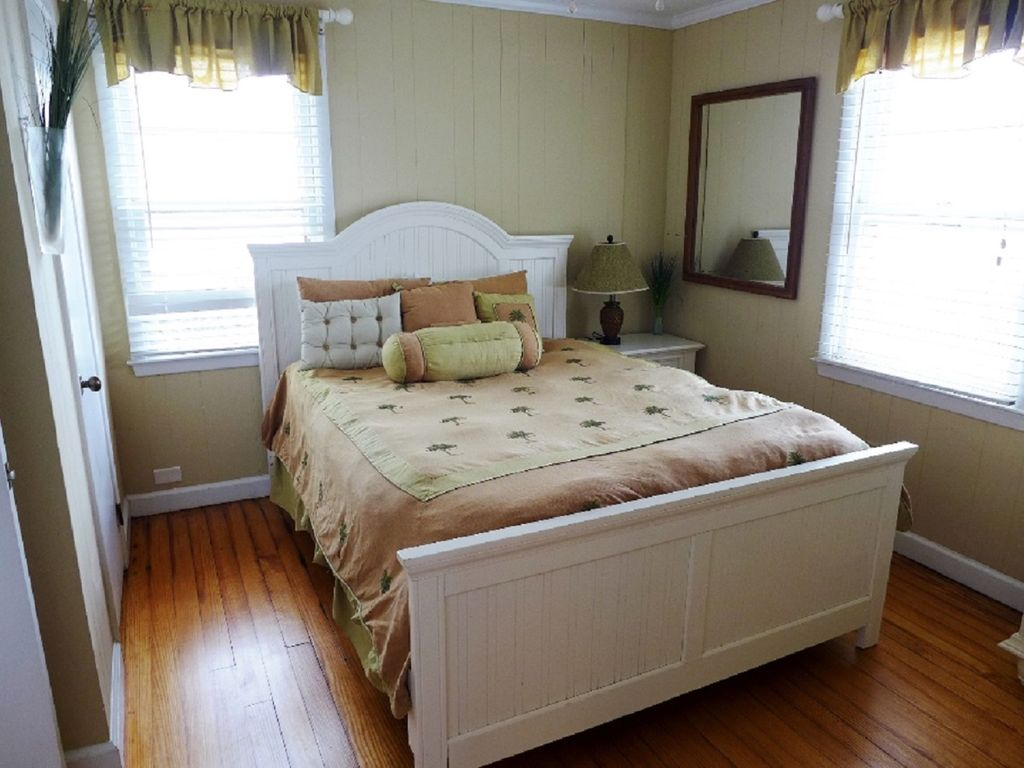 queen master beach side bedroom with private bath