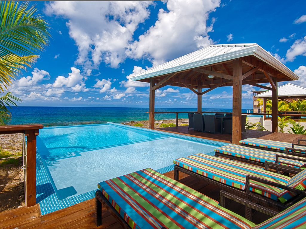 Where the pool meets the sea!!!!