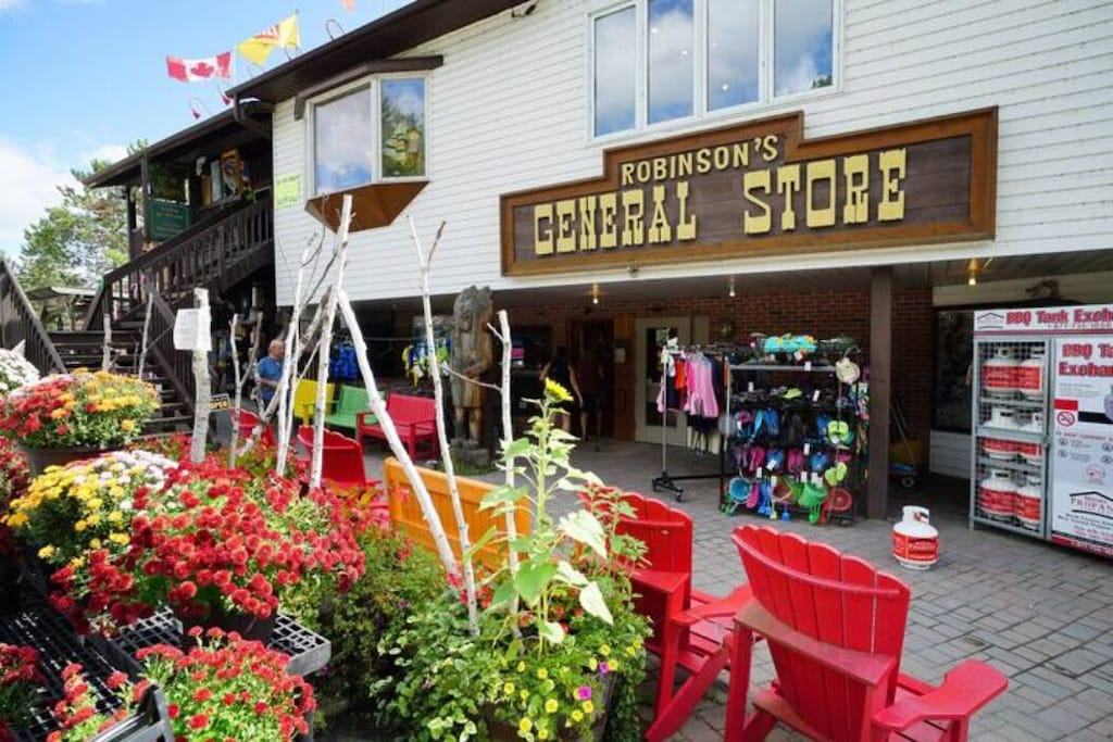 You can get anything you want at Robinson's general store