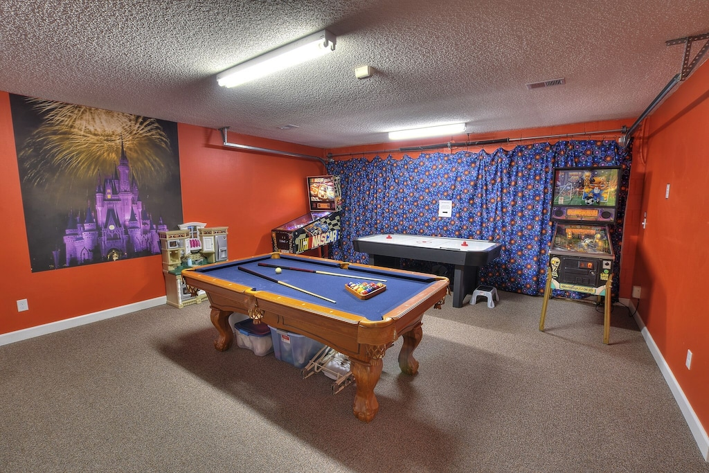 Climate controlled game room!