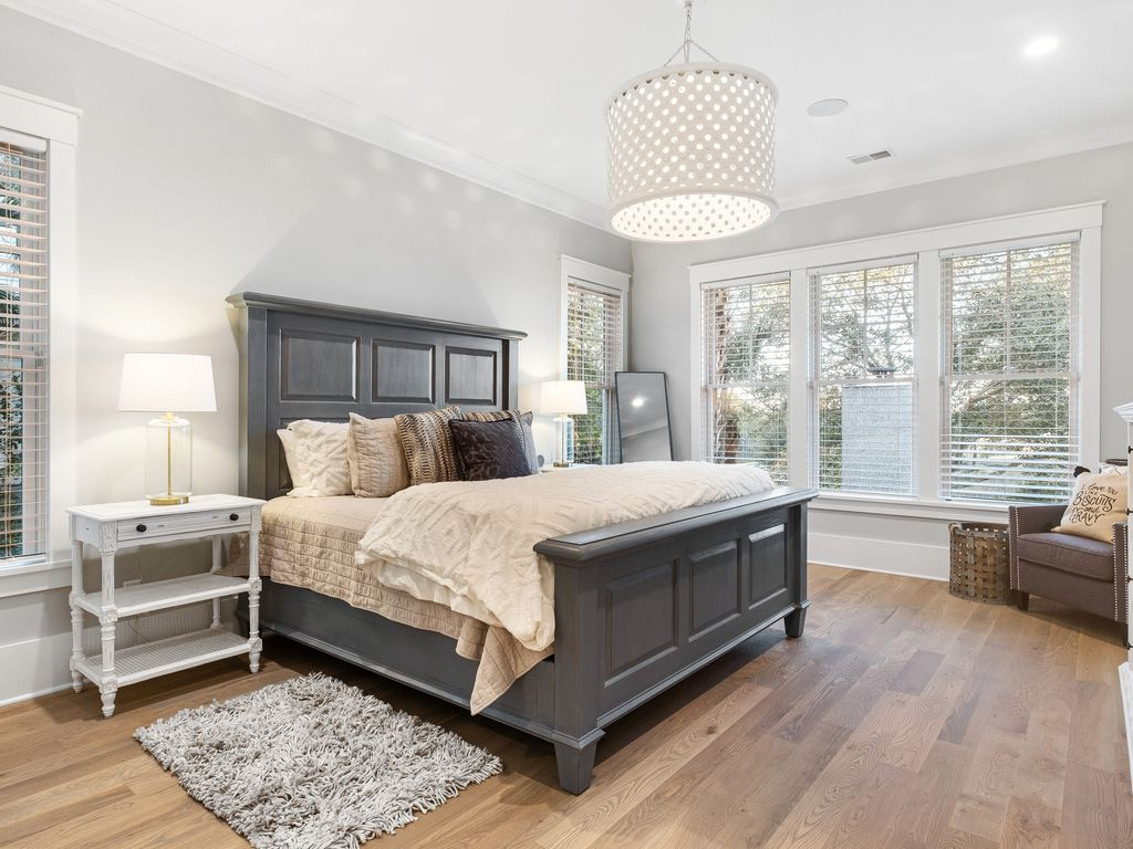 First floor master bedroom with gorgeous views of the intracoastal
