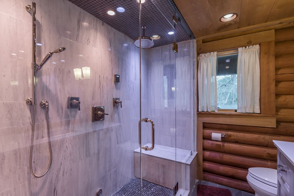 Chromotherapy Steam Shower
