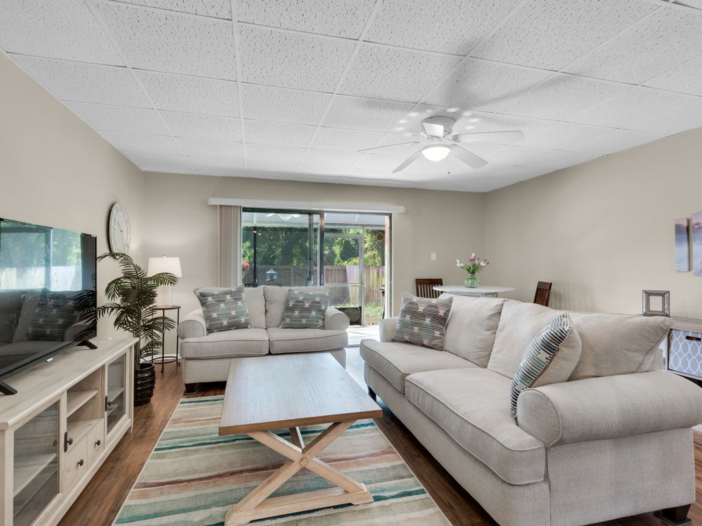 Comfortable seating in living area