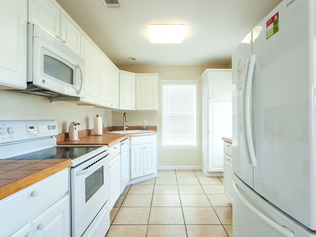 well equipped kitchen on second floor