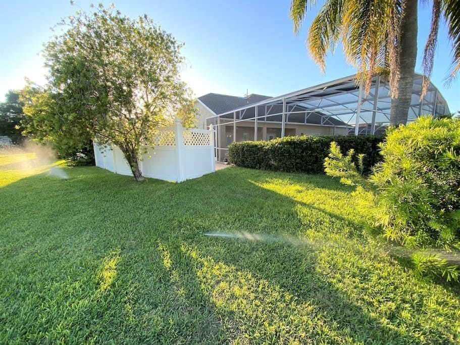 Unlike others this house is on a 1/3 of an Acre Lot with no homes at and arms distance