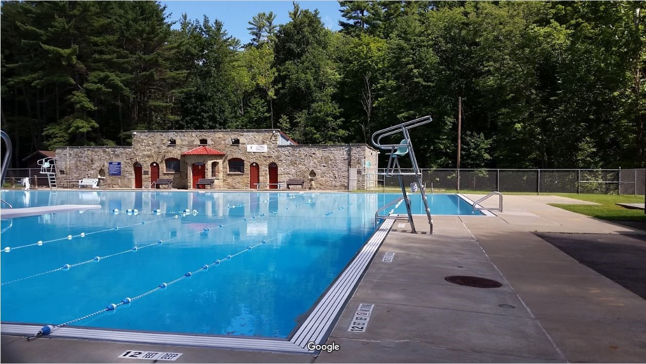 The Wilber Park Community Pool is just a 5 minute drive - The perfect place to spend an afternoon with downtime from the ballpark