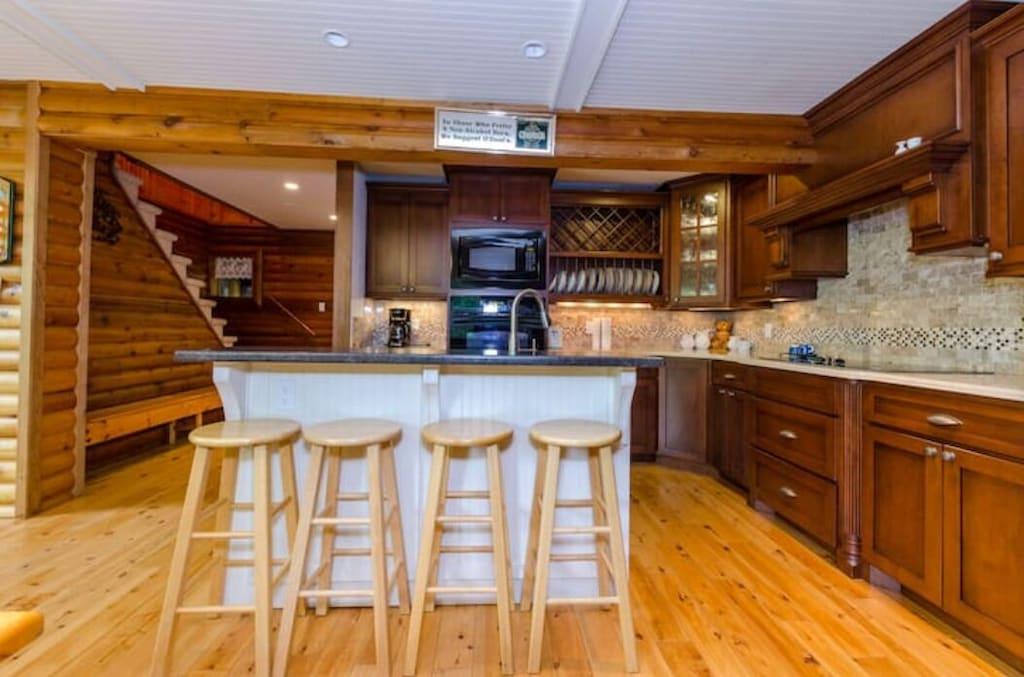 Modern Kitchen and Island