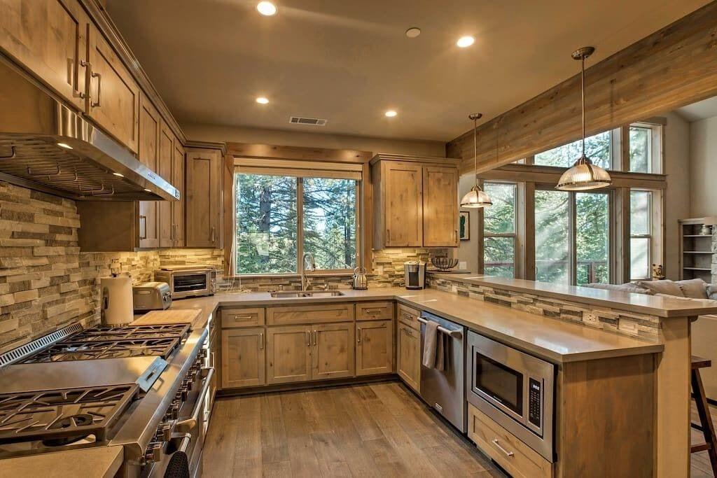 Full professional kitchen