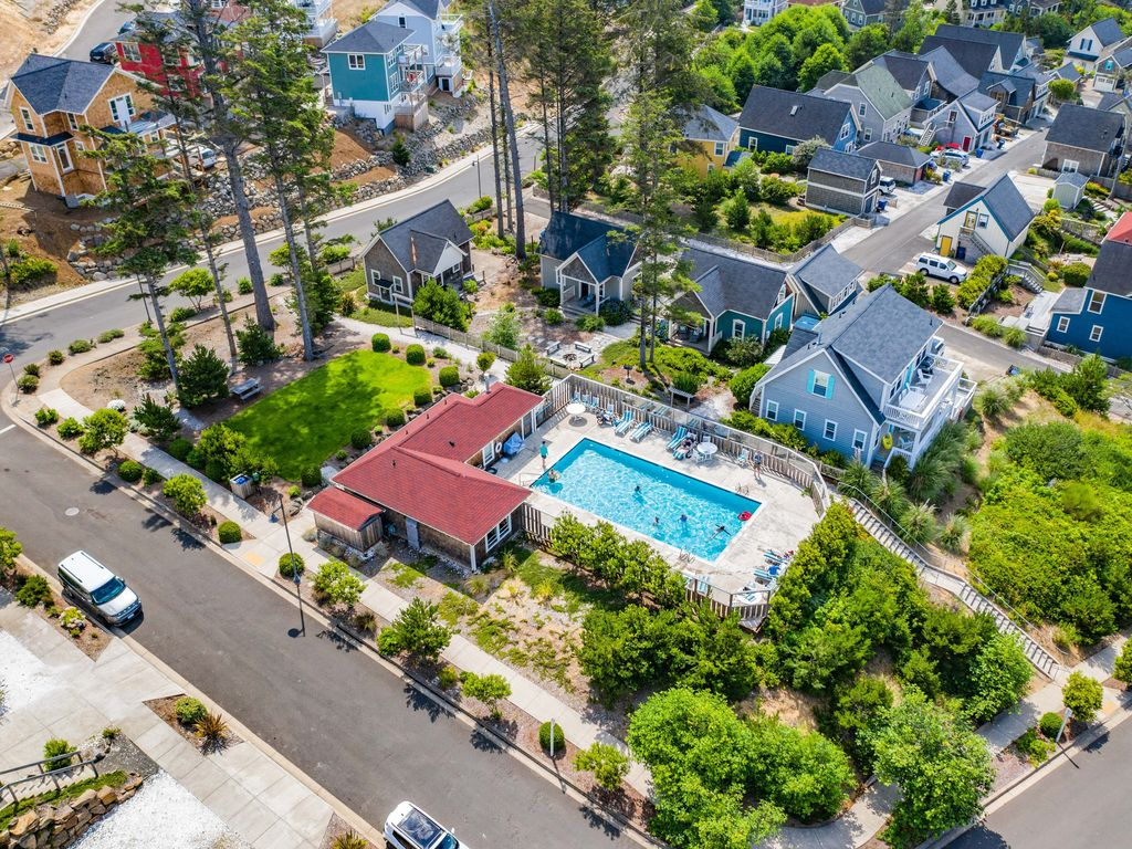 Reopening Summer 2021 - Seasonal pool house offers a saline heated swimming pool Mem Day-Sept, fitness center year round.