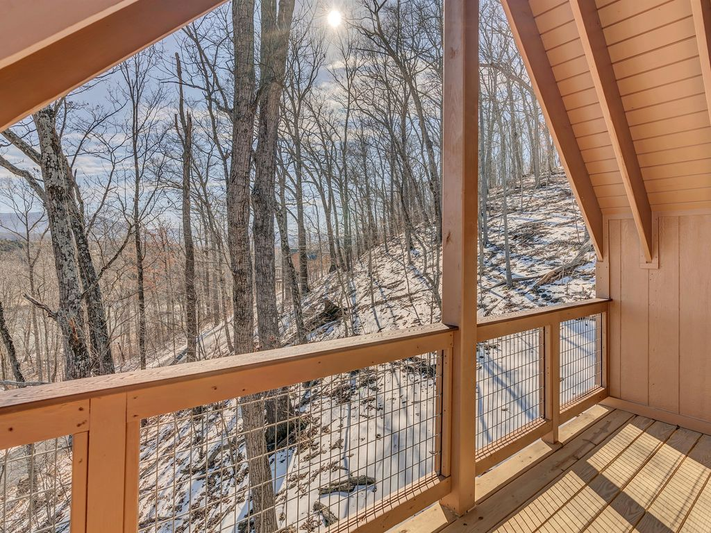 View from the private balcony off of Bedroom #1- perfect place to drink your morning coffee!