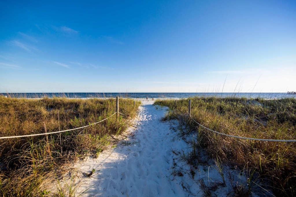 Sugar sand beaches of Northwest Florida are footsteps away!