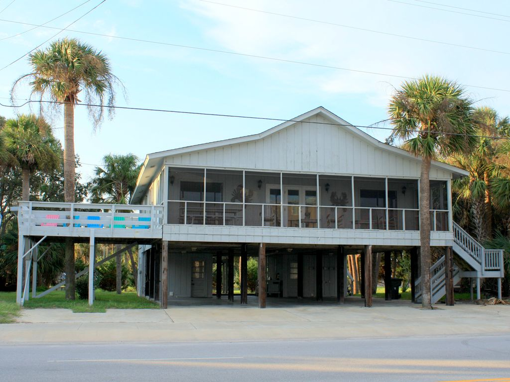 The Swamp Fox from the beach!