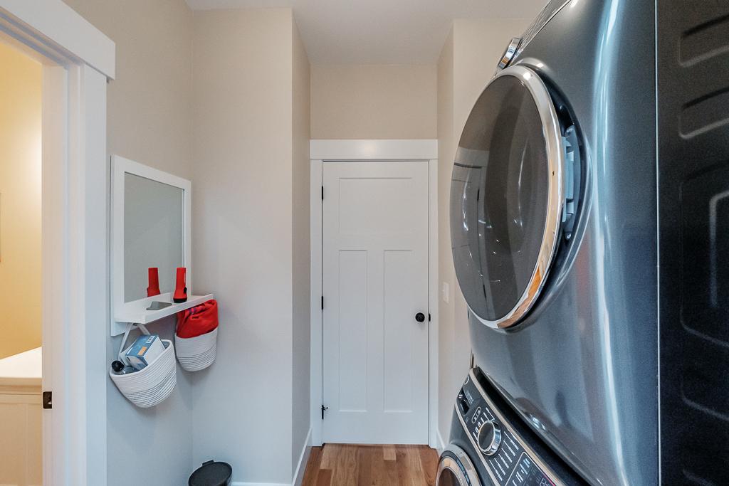 Large capacity laundry is a nice bonus.