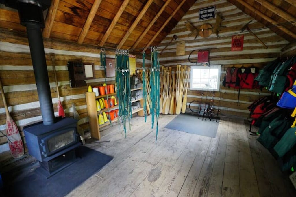 Rent the necessary gear for hiking or fishing the Frost Centre has it all.