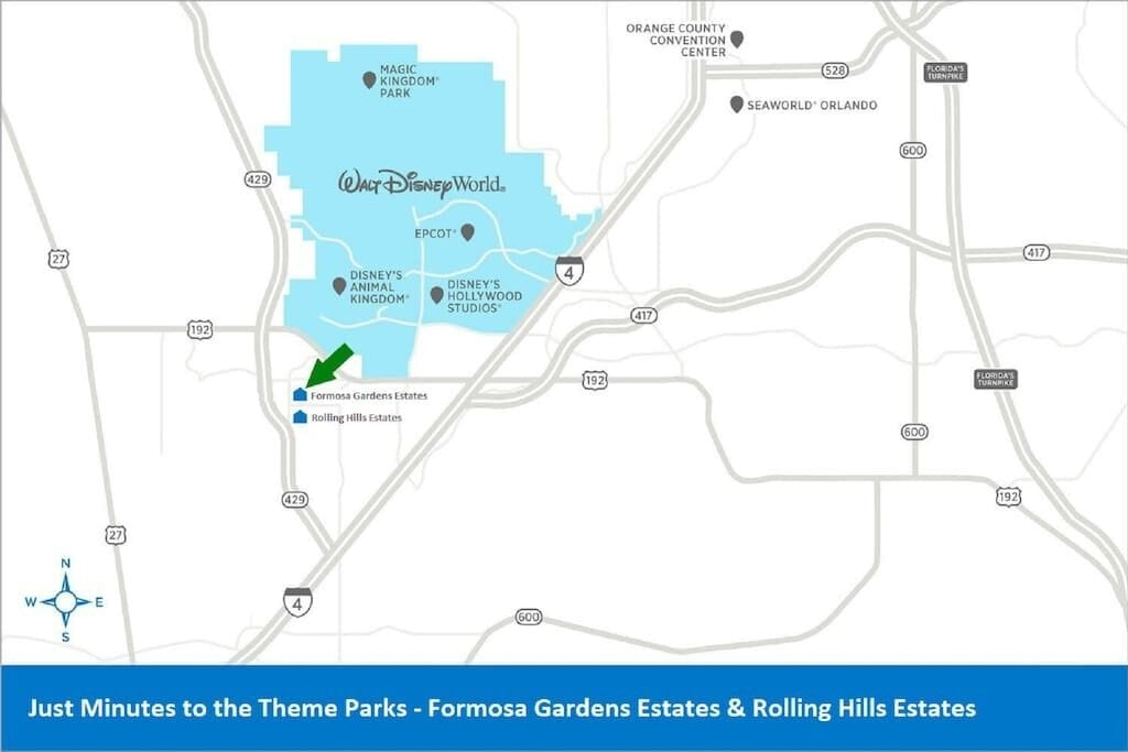 Rolling Hills Estates, unlike other locations, is only minutes from the theme parks