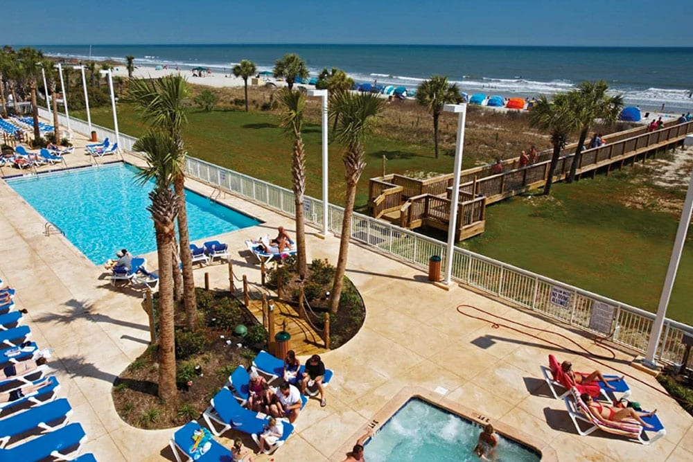 Wonderful Oceanfront Pool Deck